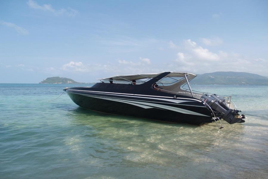 Premium speedboat charter, Koh Samui, Thailand
