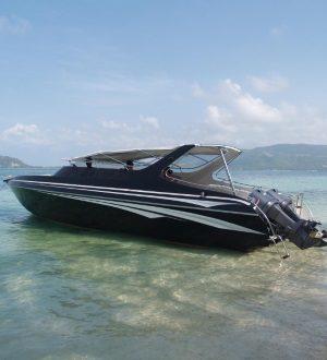 Premium speedboat charters, Koh Samui