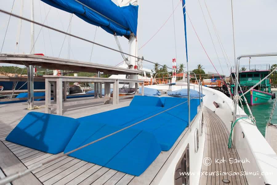 "Samui island day cruise by ""Baidee""sailing yacht, Koh Samui, Thailand"