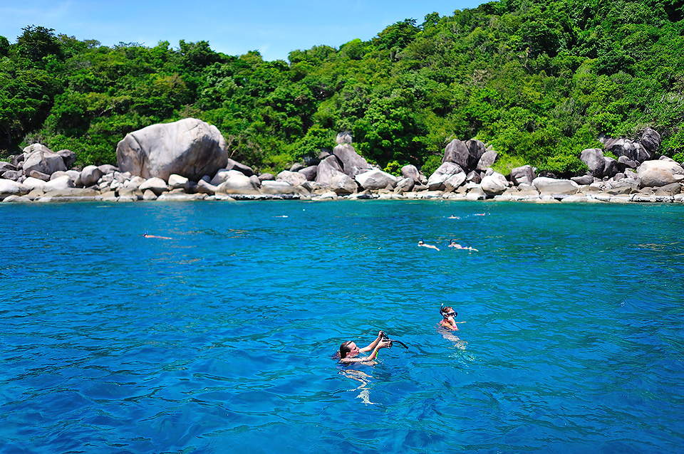 One day trip to Koh Tao by Lomprayah Catamaran, Koh Samui, Thailand