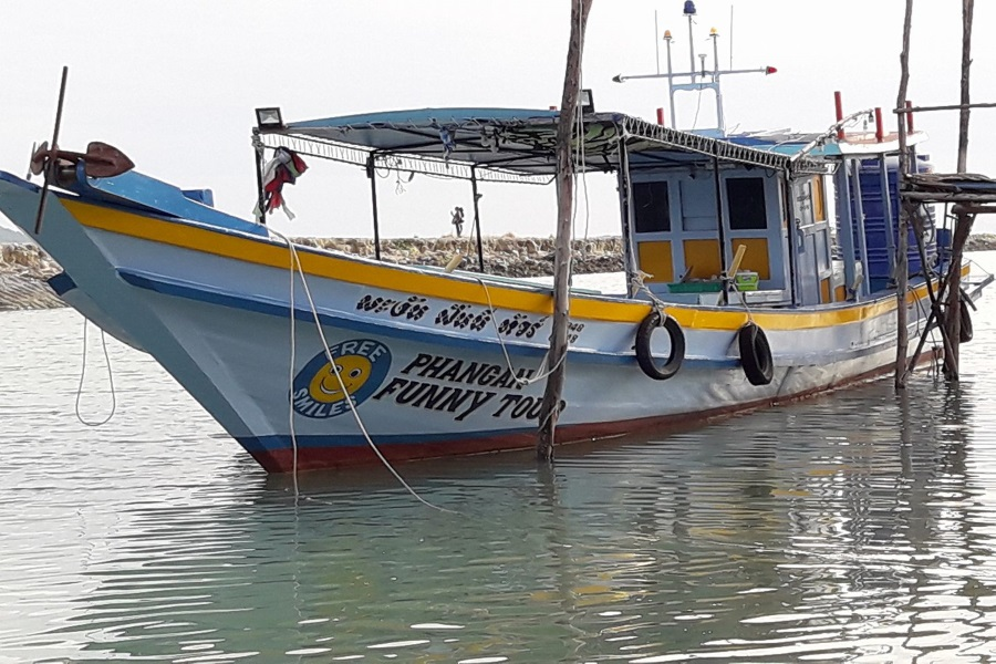 Cruises and fishing trips by fishing boat from Koh Phangan, Koh Samui, Thailand