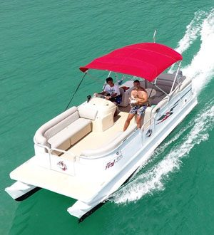 Pontoon boat, Koh Samui