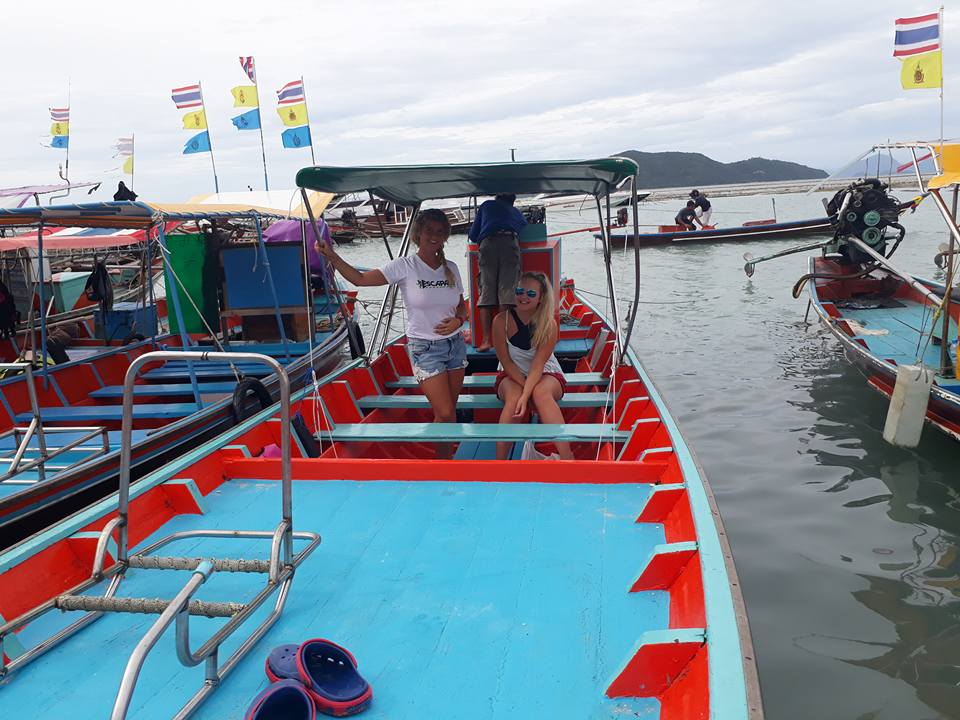 Private cruises and fishing to Koh Tan, Koh Madsum by longtail boat from Samui south, Koh Samui, Thailand