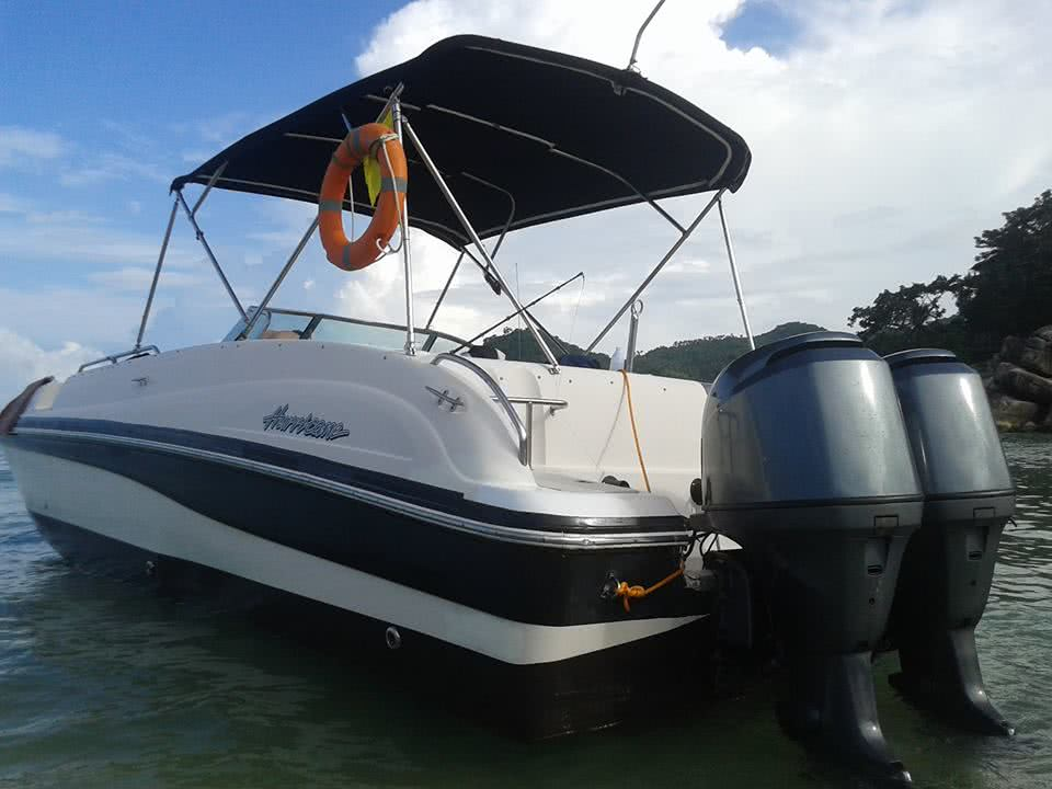 Tours and transfers by two-engine speedboat, Koh Samui, Thailand