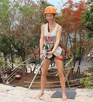 Rock climbing, Koh Samui