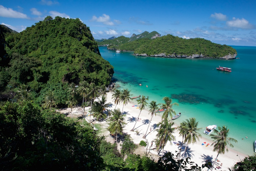 Day tour from Koh Samui to Koh Tao or Angthong marine park by Royal Express, Koh Samui, Thailand