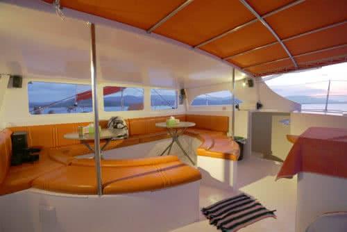 """Sailing catamaran """"Sensation"""", Koh Samui, Thailand"""