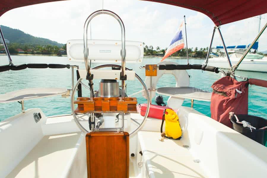 "Sailing charters by ""Sanora"", Koh Samui, Thailand"