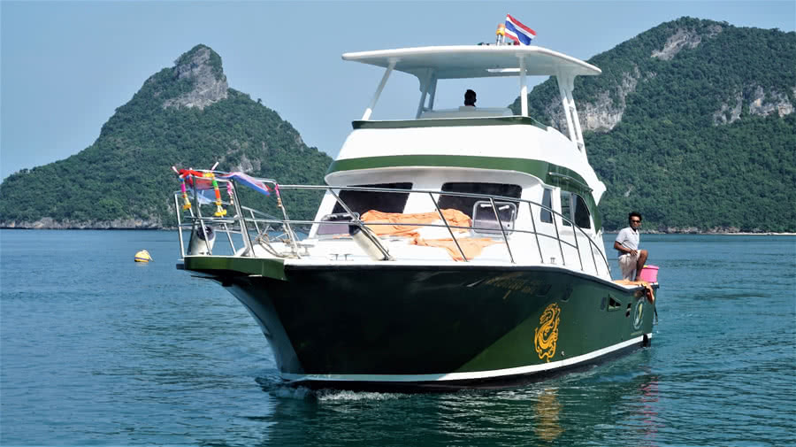 "Private cruises by yacht ""Sao"", Koh Samui, Thailand"