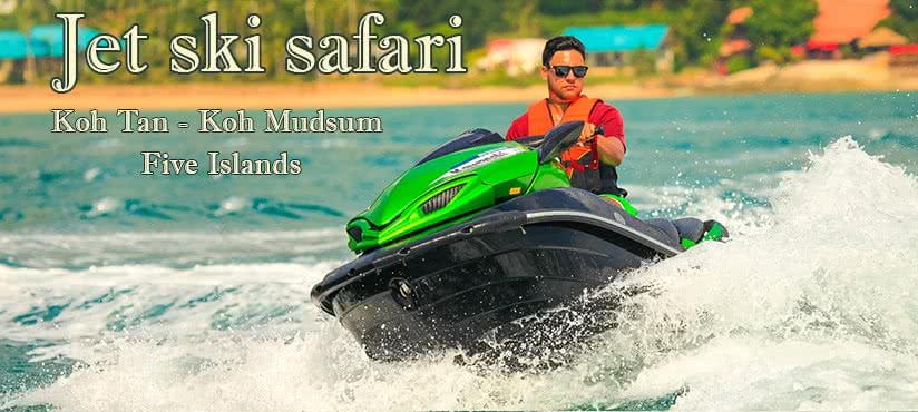 Jet ski safari tour, Koh Samui
