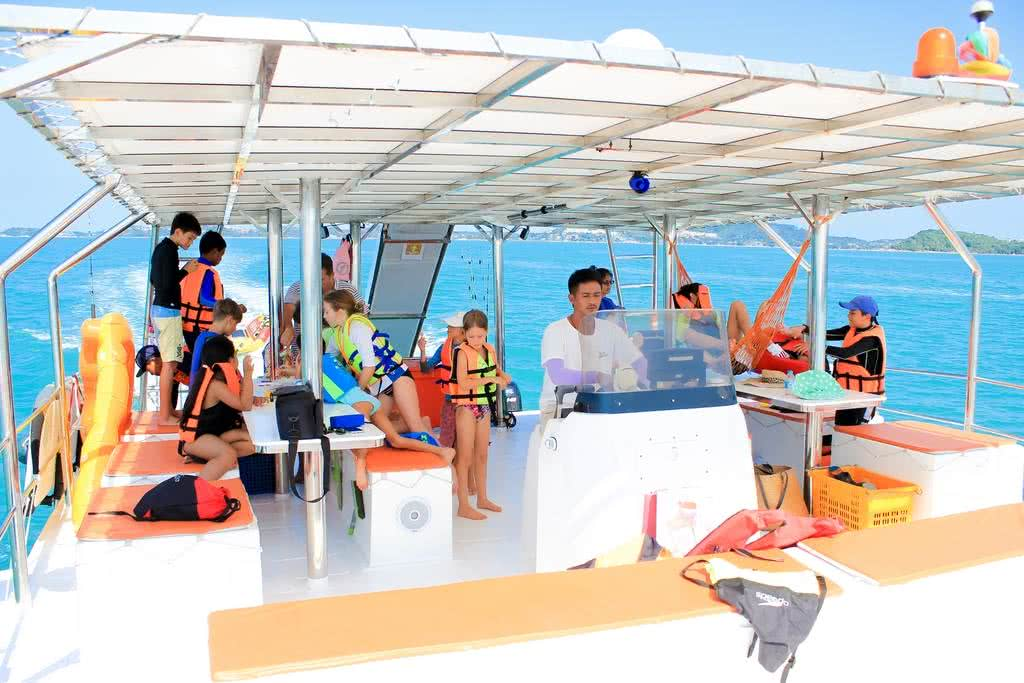 Seahorse catamaran, Koh Samui, Thailand
