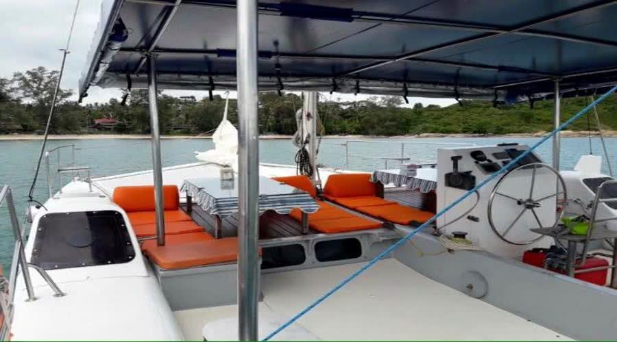 Catamaran Silky, Koh Samui, Thailand
