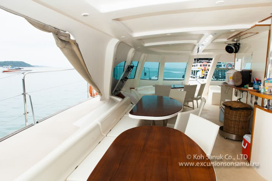 "Cruises by catamaran ""Serenity"", Koh Samui, Thailand"