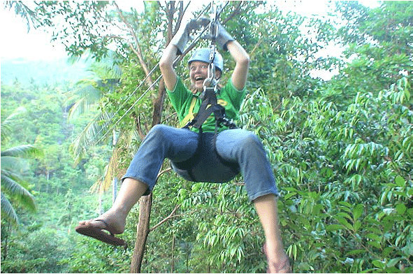 Cable Ride, Koh Samui, Thailand
