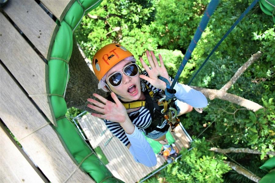 Skyhawk adventure – best zip line on Koh Samui!, Koh Samui, Thailand