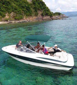 Stingrey speedboat, Koh Samui