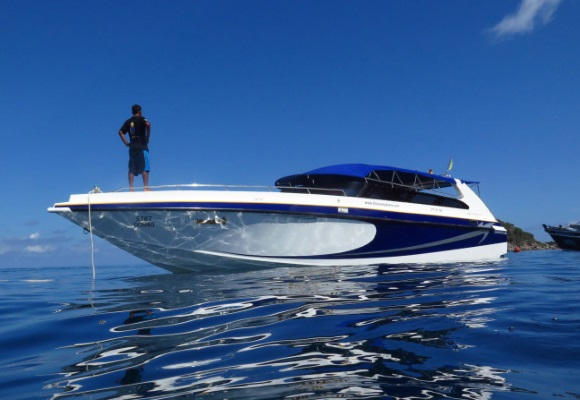 Diving tours from Koh Samui by speedboat, Koh Samui, Thailand