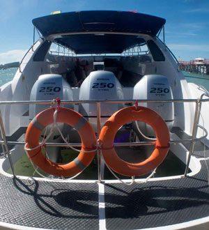 Cecalia speedboat, Koh Samui