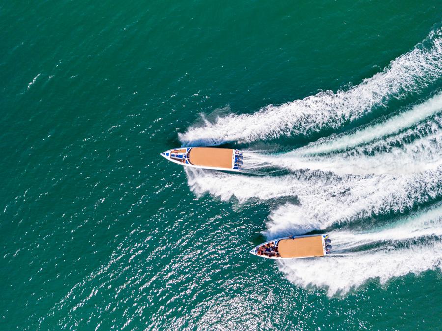 Private speedboat tours, Koh Samui, Thailand
