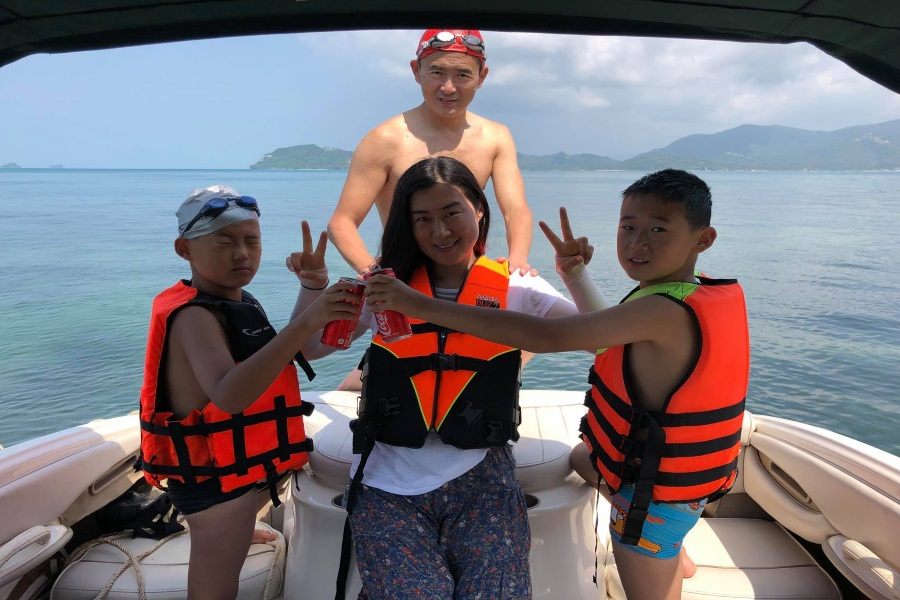 Cruises by Stingrey speedboat from the south of Koh Samui, Koh Samui, Thailand