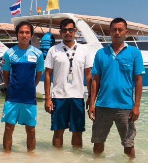 Transfer boat from Koh Samui to Koh Phangan