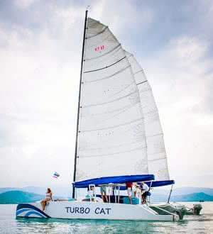 Turbo Cat catamaran, Koh Samui