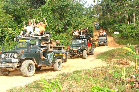 Full day jeep safari, Koh Samui, Thailand
