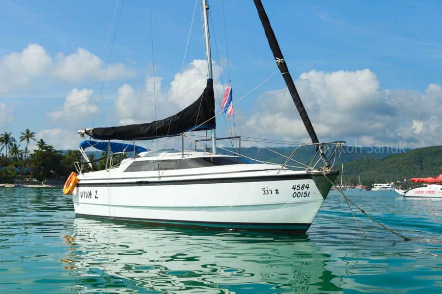 "Sailing charters by ""Viva II"", Koh Samui, Thailand"