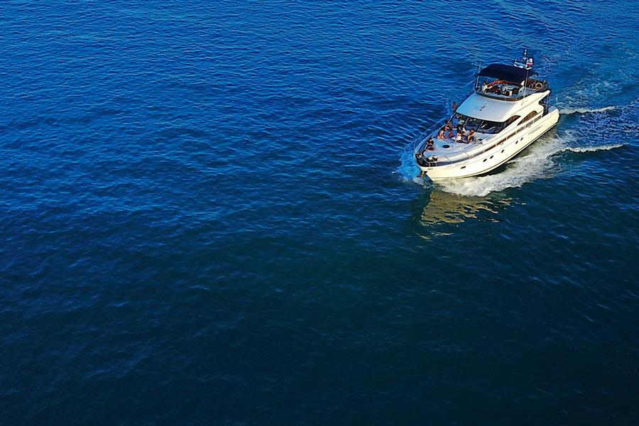 "Luxury yacht ""W Princess"", Koh Samui, Thailand"
