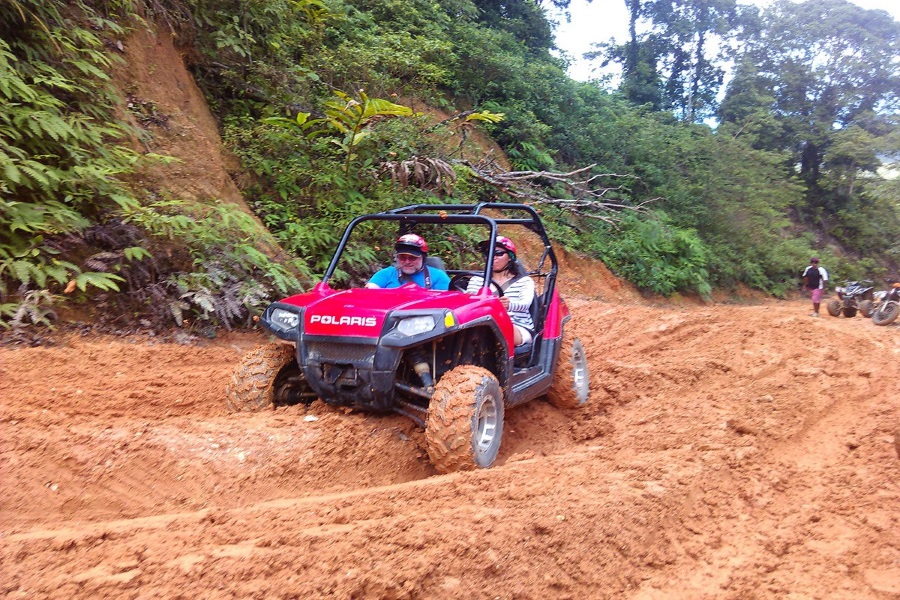 X-Quad: ATVs and buggies in the mountains of Koh Samui, Koh Samui, Thailand